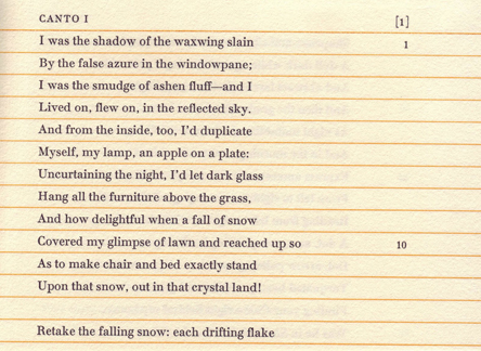 Pale Fire CANTO 1