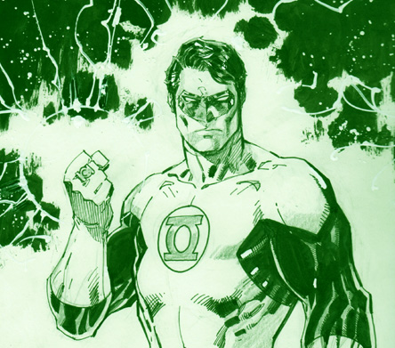 Jim Lee THE Hal Jordan Green Lantern