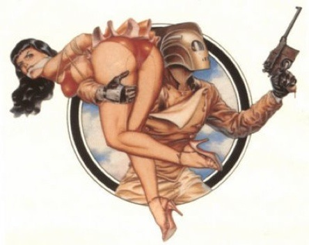 Bettie AND Rocketeer