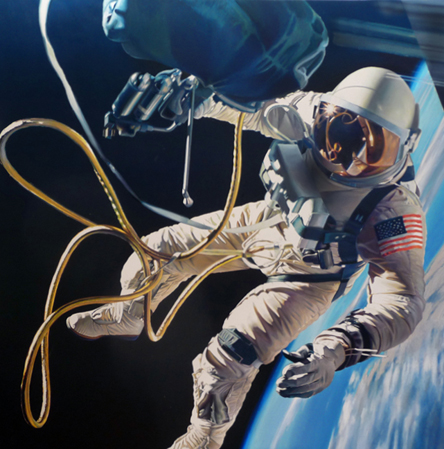 Hyperreal-astronaut