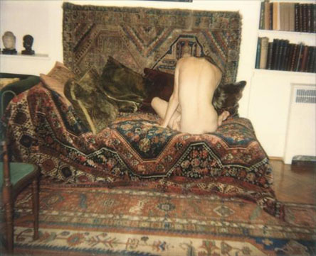Naked on Sigmund Freud's Couch