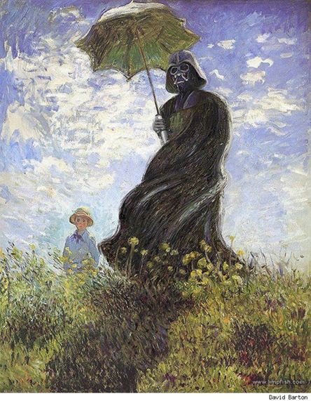 Vader With A Parasol_500