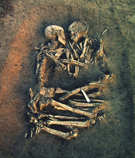 Prehistoric lovers