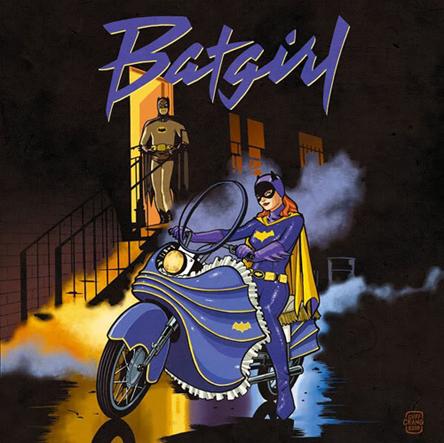 Batgirlpurplerain