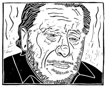 Bukowski-woodcut