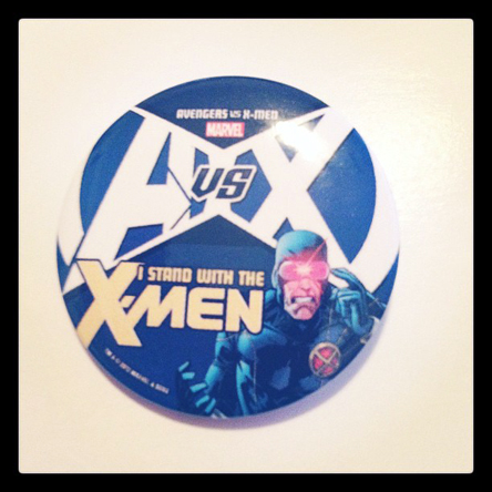 I stand with the X-men