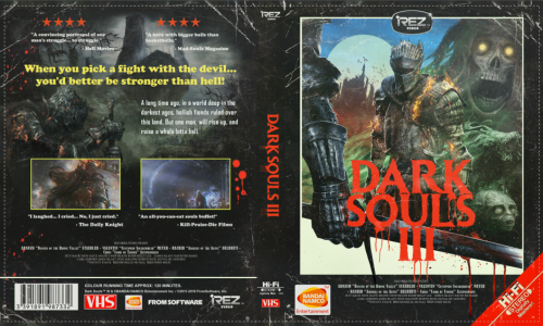 Ds3 80s vhs cover