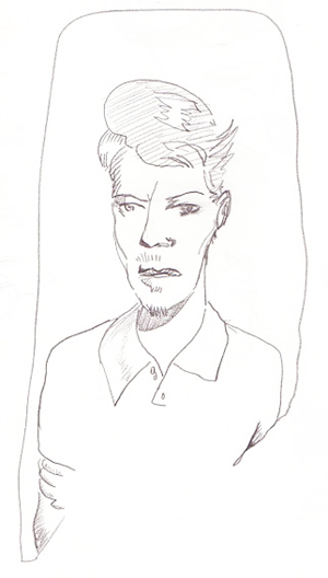 My Bowie Drawing 1997