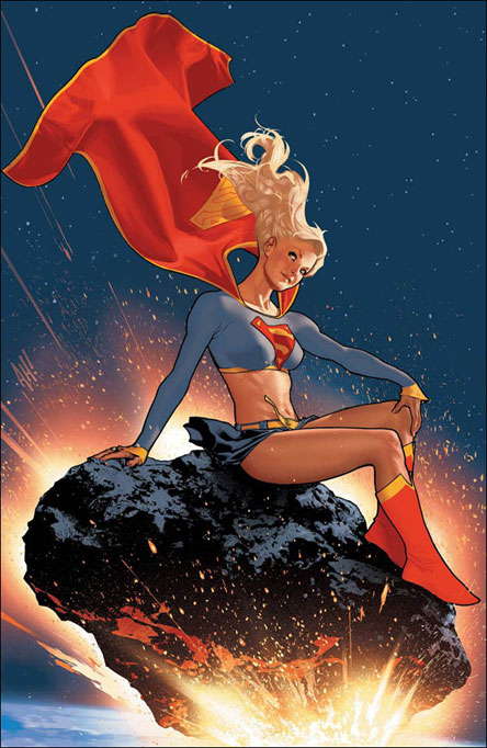 Supergirl_by_adam_hughes