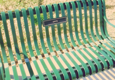 Loveparkbench