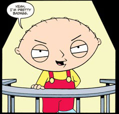 Stewie Griffin wants to kill