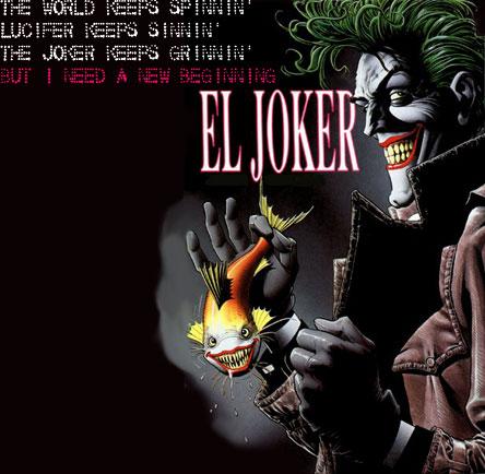 Jokerkeepsgrinning